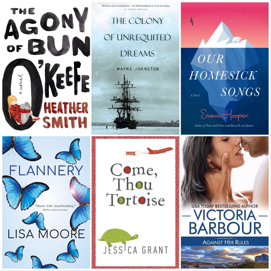 Books Set in Newfoundland Covers