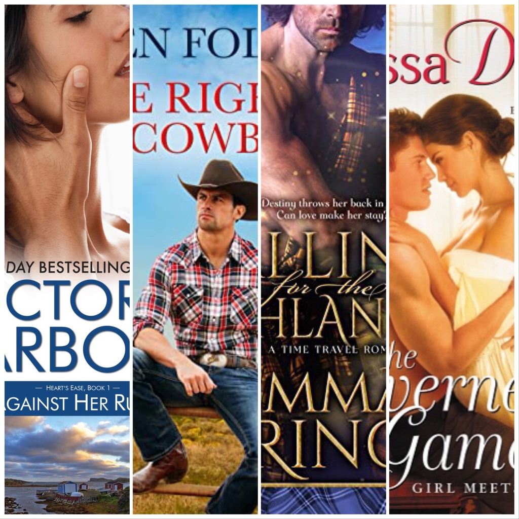 Romance Reads book collage