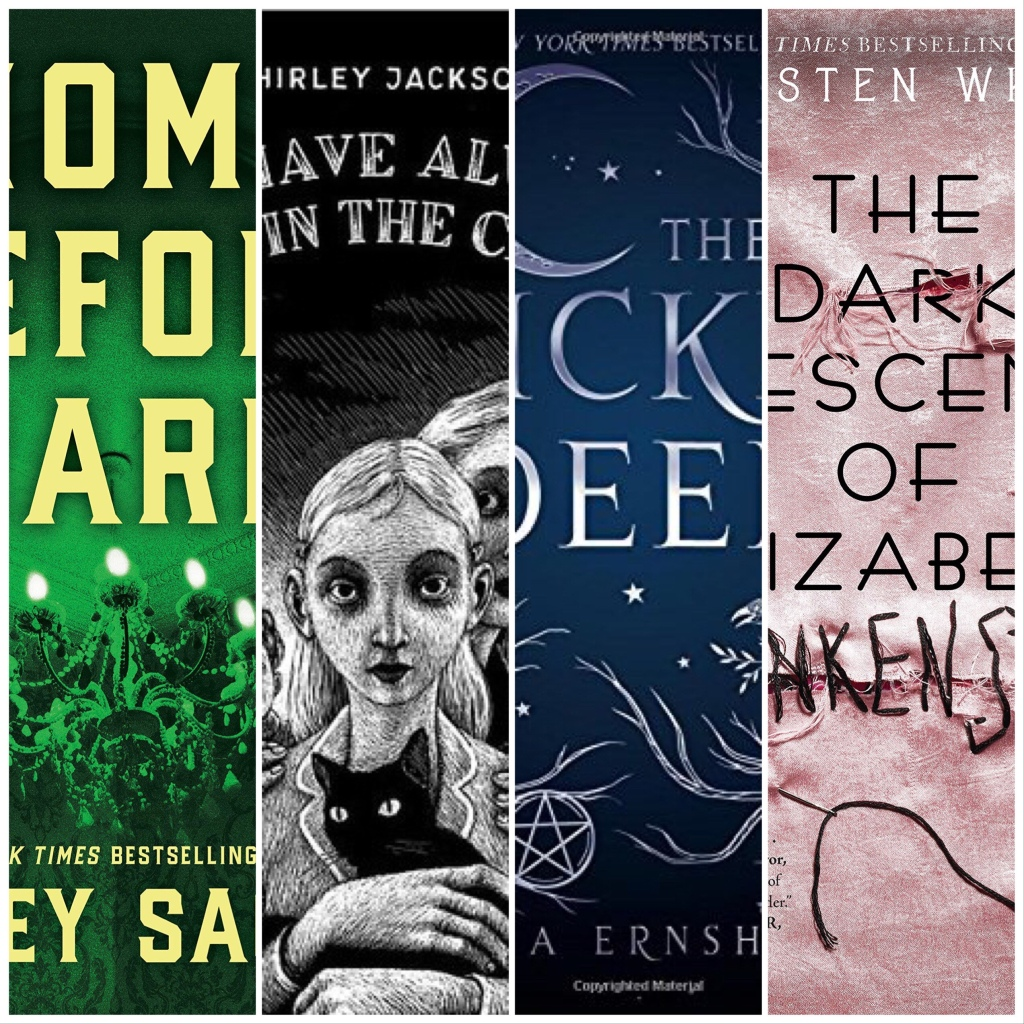 Fright Books Cover slices