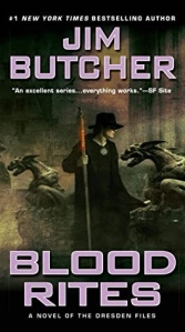 Blood Rites by Jim Butcher (cover)