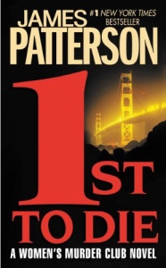 1st to Die by James Patterson (Cover)